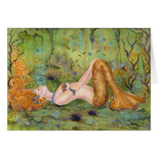 Adrift Mermaid Card By Renee L.Lavoie