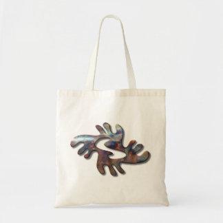Adrinka-peace-copper Bags