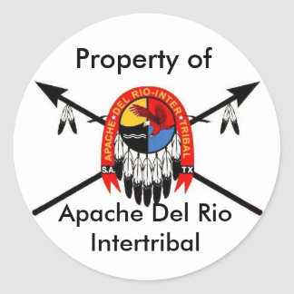 """ADRIT """"Property of..."""" Stickers"""