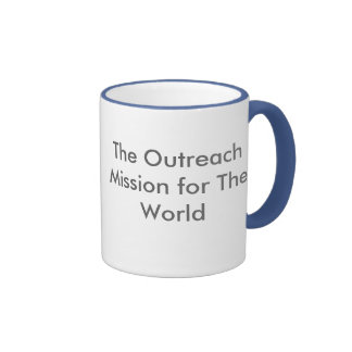 adrive4life la misión del Outreach para el mundo Tazas