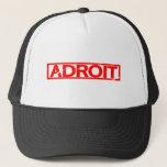 Adroit Stamp Trucker Hat
