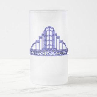 ADSW Neon Logo Frosted Mug