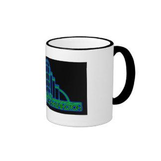 ADSW Neon Logo Ringer Mug