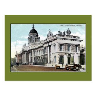 Aduanas de los 1890s del vintage Dublín Irlanda Postales
