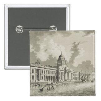 Aduanas, Dublín, 1792 (grabado) Pins