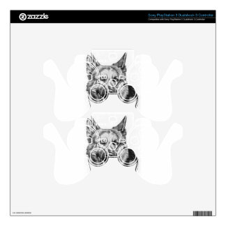 adul German shepherd Decal For PS3 Controller