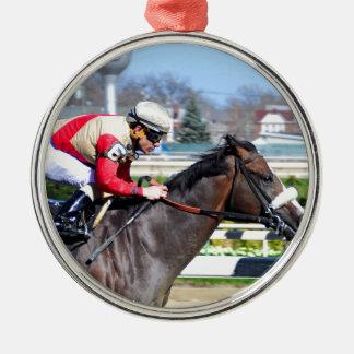 Adulator and Alvarado Metal Ornament