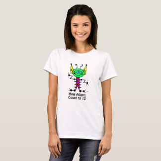 Adult Alien Counting T-Shirt