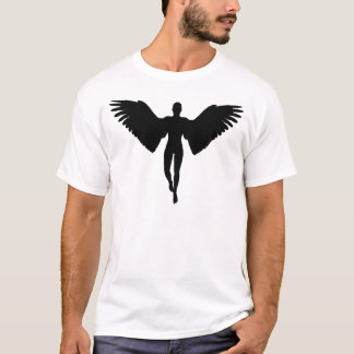 Adult Angel Silhouette T-Shirt