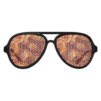Adult Aviator Style Bacon Party Shades. Aviator Sunglasses