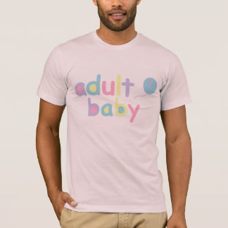 Adult Baby and Balloon T-Shirt