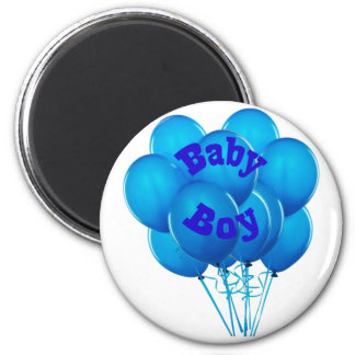 Adult Baby Boy Balloons Magnet