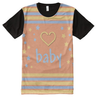 Adult Baby Super Cute/ Baby 4 Life all over/ABDL All-Over-Print T-Shirt
