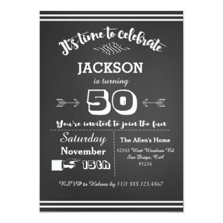 Th Birthday Invitations Announcements Zazzle - Unique birthday invitations for adults