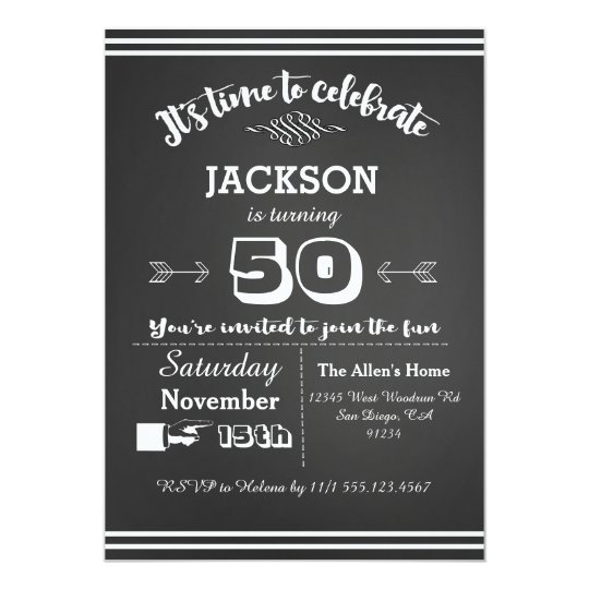Adult birthday party invitation 50th 60th 40th zazzle adult birthday party invitation 50th 60th 40th filmwisefo