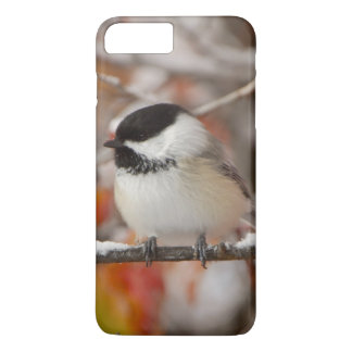 Adult Black-capped Chickadee in Snow, Grand iPhone 7 Plus Case