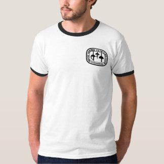 Adult Black Ring T w/Small WSFC logo T Shirt