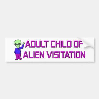 Adult Child Car Bumper Sticker