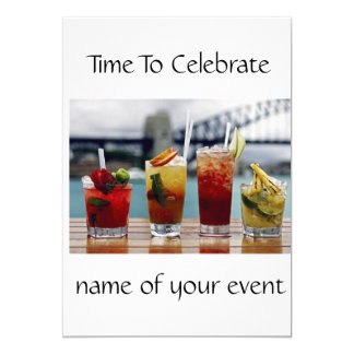 ****ADULT COCKTAIL PARTY INVITATION***** CARD