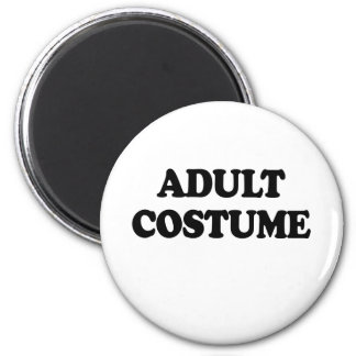 ADULT COSTUME 2 INCH ROUND MAGNET