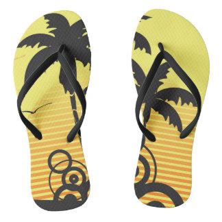 Adult Custom, fine strips Flip Flops