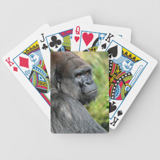 Adult Gorilla Bicycle Playing Cards