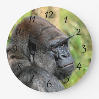 Adult Gorilla Wall Clock