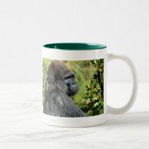 Adult Gorilla Two-Tone Coffee Mug