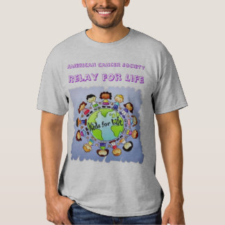 Adult grey Kids for Life T-shirt