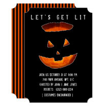 Adult Halloween Party Invitations