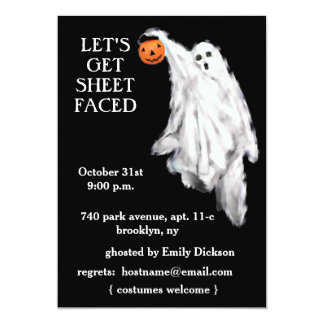 adult halloween party invitations - Brooklyn Halloween Party