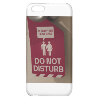 ADULT HUMOR Attempting First Base Sign Case For iPhone 5C