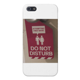 ADULT HUMOR Attempting First Base Sign iPhone SE/5/5s Cover