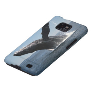 Adult Humpback Whale Breaching Galaxy S2 Covers
