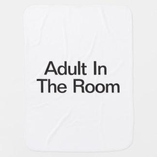 Adult In The Room Receiving Blanket