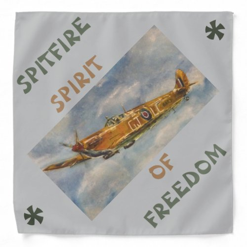 Adult  Large 559 cm x 559 cm Spitfire Bandana