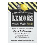Adult Lemonade Party - Divorce Party Girls Night Invitation