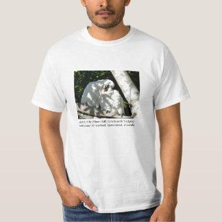 Adult Little (Short Bill) Corella with fledgling T-Shirt
