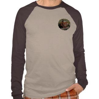 Adult Long Sleeve Raglan RFT Logo Tee Shirts