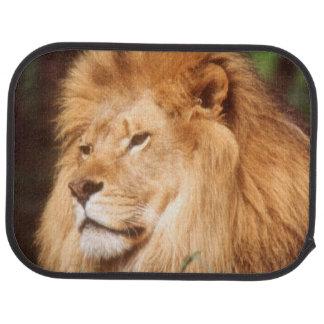 Adult male Lion Car Floor Mat