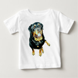 Adult Male Rottweiler Baby T-Shirt
