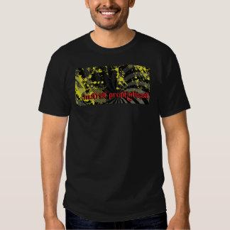 Adult Paint Slatter Shirt