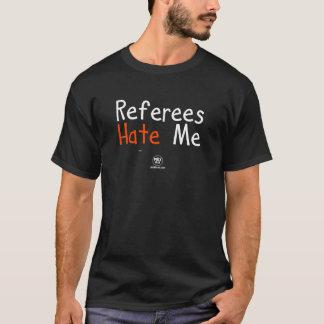 "Adult - PuckBrain ""Ref's Hate Me"" Dark T-Shirt"