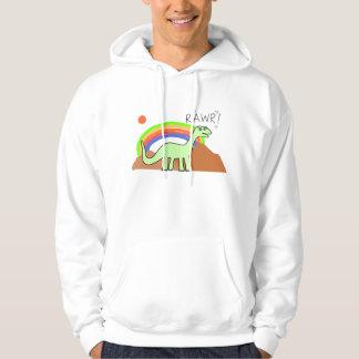 Adult Rainbow Rawr Hoodies