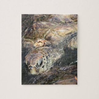 Adult Sea Turtle Jigsaw Puzzle