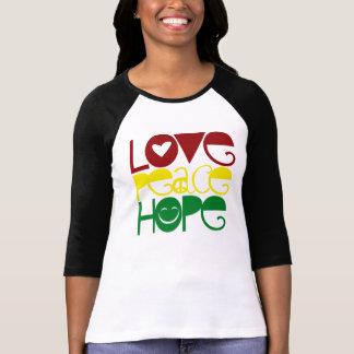 Adult Shirt, Love Peace Hope T-Shirt