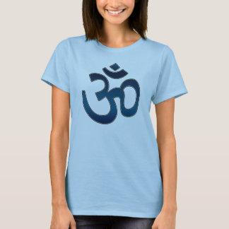 Adult Shirt, Ohm Symbol, Blue T-Shirt