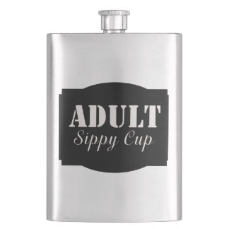 Adult Sippy Cup Hip Flask