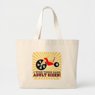 Adult Sized! Canvas Bag