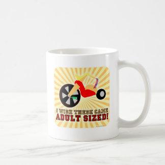Adult Sized! Classic White Coffee Mug